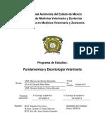 PROGRAMA DE FUNDAMENTOS Y DEONTOLOGÍA VETERINARIA