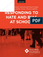 Responding to Hate at School 2017[1]