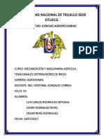 Canales de Riego (Distribuidores y Parceleros) - Copia
