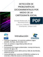 Detección de problemáticas socioambientales por medio de la cartografía social