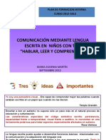 lECTOESCRITURA  FORMACION 2012.pptx