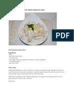 Salata de Ciuperci Cu Iaurt, Lamaie Si Pasta de Susan