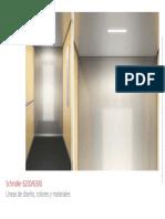 Linea Diseño Ascensor 6200/6300