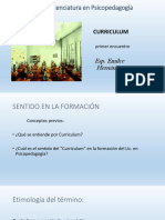 Power Curriculum u1