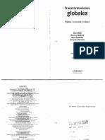 1. Held Et. Al., 2002 Intro, El Debate y El Concepto (1)