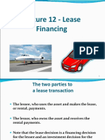 12Lecture12-LeaseFinancing