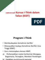 Taklimat Kursus I-Think Dalam Talian (KiDT)