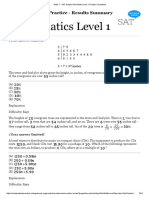 Math 1 - SAT Subject Test Math Level 1 Practice Questions