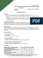 Modelo de Pré-projeto