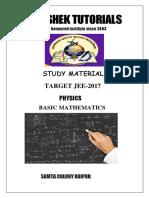 Basic Mathematics...