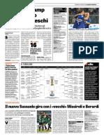 La Gazzetta dello Sport 13-08-2017 - Coppa Italia Pag.1