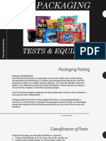 Food Packaging Testing by PackTest.com