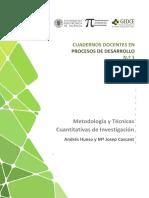 Hueso Metodología y Técnicas Cuantitativas de Inv