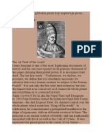 History of Papal and Venetian Trusts
