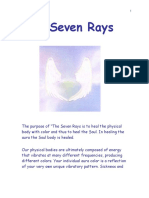7 Rays (Color Healing) Manual One