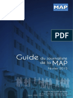 LIVRO - JORNALISMO - Guide Du Journaliste de La MAP (Agence Marocaine de Presse) - France