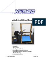 Afinibot A31 User Manual 2-24-17
