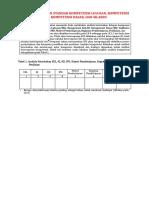 Analisis Dokumen Standar Kompetensi Lulusan