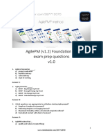 AgilePM v1.2 Foundation Exam Prep Questions [en]