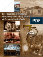"""Chile, """"Los recuerdos inolvidables de los jubilados de ferrocarriles de Ovalle"""""""