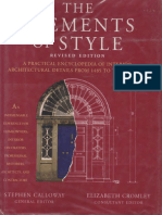 The Elements of Style - A Practical Encyclopedia of Interior Architectural Details From 1485 to the Present - Calloway (1996)