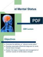 Altered Mental Status CMR1