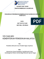 Draf Taklimat Awal Tahun 2015 Perkhidmatan Bimbingan dan Kaunseling 2015.pptx