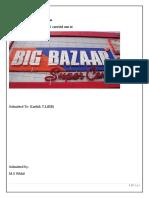 Project Report-Big Bazaar