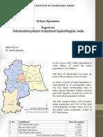 Urbanization Pattern in Delhi-NCR, Kunal Basist
