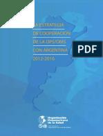 2012 ARG Estrategia Cooperacion Argentina