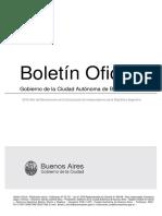 Boletín oficial de Salud - Gobierno de la Ciudad de Buenos Aires