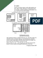 Predictor cards.doc
