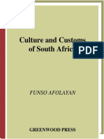 Culture and Costumes -South-Africa