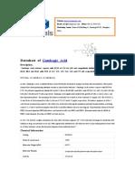 Gambogic Acid|cas 2752-65-0|supplier DC Chemicals