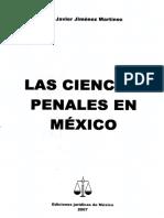 Las Ciencias Penales en Mexico