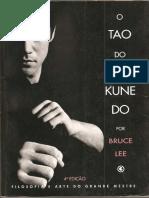 Bruce Lee - o Tao Do Jeet Kune Do Portugues