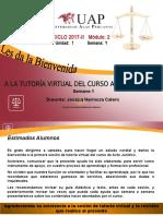 1.1. Primera Semana ACTO JURIDI.ppt