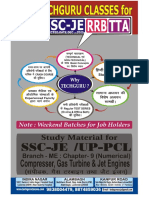 359SSCJE_Compresser, Gas Turbbine & Jet Engines (Numerical)