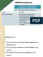 Teknik Menjawab Soalan UPSR 2017