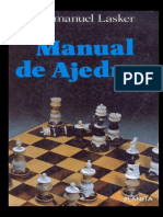 Manual de Ajedrez - Dr. Emanuel Lasker