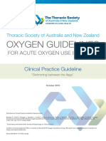 TSANZ AcuteOxygen Guidelines 2016 Web