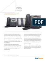 Cisco SPA508G Phone Datasheet
