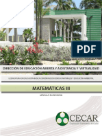 Matematicas III-matematicas III