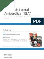 Esclerosis Lateral Amiotrófica Tto