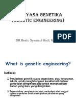 Rekayasa Genetik Rev