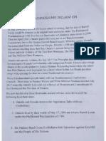 Our Haudenosaunee Declaration