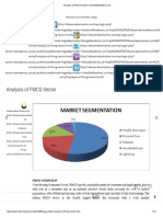 Analysis of FMCG Sector _ IdeasMakeMarket