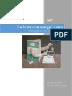 ANTOLOGÍA POLICIALES La Letra Con Sangre Entra