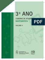 3 Ano Caderno de Atividades Matematica ALUNO Vol.2