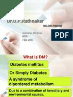 15943167 Pharmacotherapy of Diabetes Mellitus